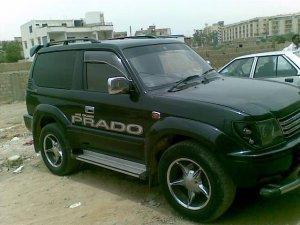 Burhan Rent A Car Offers Prado For Rent In Defence Karachi Pakistan
