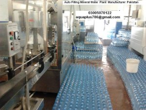 Auto Filling Mineral Water Bottling Plant Pakistan