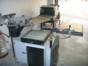 Screen Printing machine , Heating dryer with panel - Karachi
