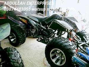 Alloy Rim Quad 250cc Atv 4 Wheeler Quad Bike Deliver All Over