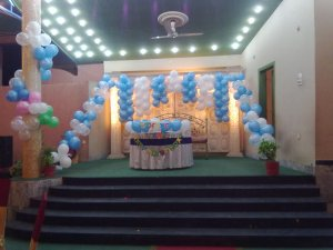 Balloons decoration birthday party event planning organizer